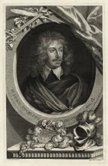 Sir John Suckling, by George Vertue, after  Sir Anthony van Dyck - NPG D27801