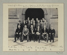 Visit of (U.S.) American Athletes to the Olympian Games - Franco-British Exhibition, 1908, by Sir (John) Benjamin Stone, 29 July 1908 - NPG x131232 - © National Portrait Gallery, London