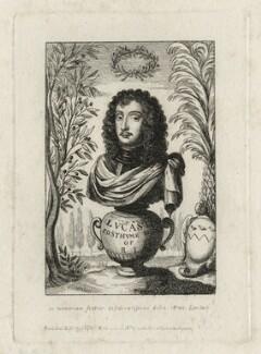 Richard Lovelace, after Francis Lovelace, published by  William Richardson - NPG D27815