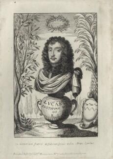 Richard Lovelace, after Francis Lovelace, published by  William Richardson - NPG D27818