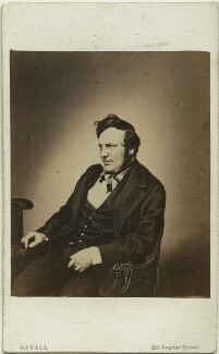 Charles James Lever, by John Jabez Edwin Mayall, published by  A. Marion, Son & Co - NPG x20022