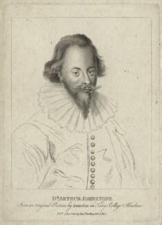 Arthur Johnston, after George Jamesone, published by  Edward Harding - NPG D27837