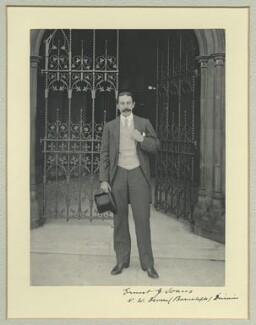 Sir Ernest Joseph Soares, by Benjamin Stone - NPG x44969