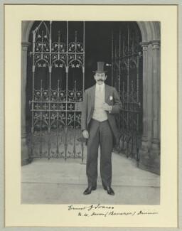Sir Ernest Joseph Soares, by Benjamin Stone - NPG x44968