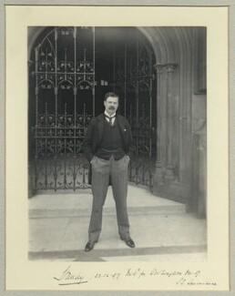 Edward George Villiers Stanley, 17th Earl of Derby, by Benjamin Stone - NPG x35099