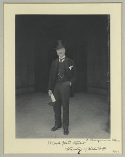 Sir Mark John MacTaggart Stewart, 1st Bt, by Benjamin Stone - NPG x35103