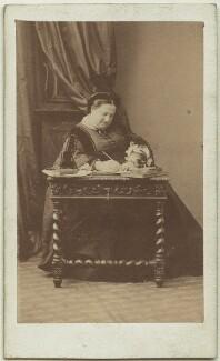 María Cristina de Borbón of the Two Sicilies, Queen of Spain, by Disdéri - NPG x74469