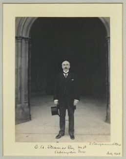 Edward Anthony Strauss, by Benjamin Stone - NPG x35208