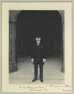 Edward Anthony Strauss, by Benjamin Stone - NPG x35209