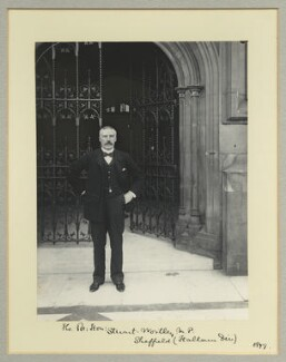 Charles Beilby Stuart-Wortley, 1st Baron Stuart of Wortley, by Benjamin Stone - NPG x35563