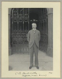 Charles Beilby Stuart-Wortley, 1st Baron Stuart of Wortley, by Benjamin Stone - NPG x35560