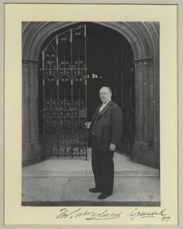 Sir Thomas Sutherland, by Benjamin Stone - NPG x35213