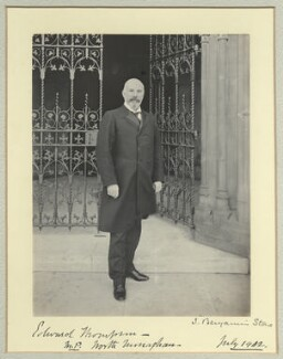 Edward Charles Thompson, by Benjamin Stone - NPG x35219