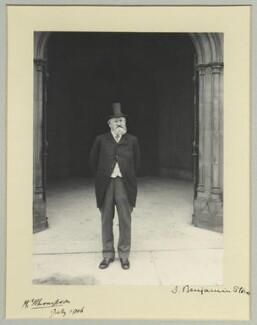 Henry Yates Thompson, by Benjamin Stone - NPG x35220