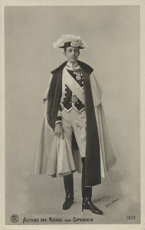 Alfonso XIII, King of Spain, by Christian Franzen, mid 1900s - NPG x74378 - © National Portrait Gallery, London