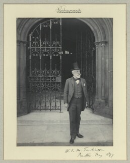 Sir William Edward Murray Tomlinson, 1st Bt, by Benjamin Stone - NPG x35224