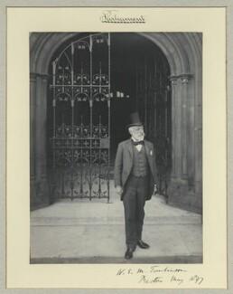 Sir William Edward Murray Tomlinson, 1st Bt, by Sir (John) Benjamin Stone, May 1897 - NPG x35224 - © National Portrait Gallery, London