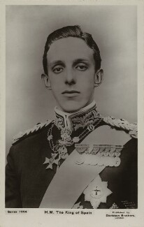Alfonso XIII, King of Spain, by William Slade Stuart, published by  Davidson Brothers, mid 1900s - NPG x74380 - © National Portrait Gallery, London