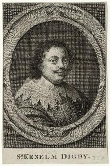 Sir Kenelm Digby, after Peter Oliver - NPG D27871