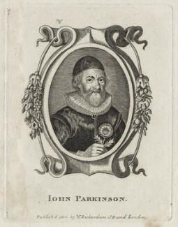John Parkinson, after Unknown artist, published by  William Richardson - NPG D27878