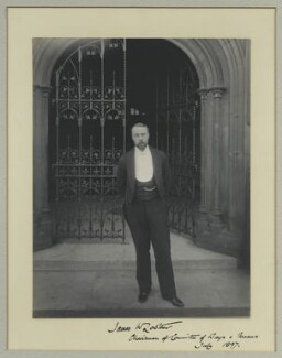 James William Lowther, 1st Viscount Ullswater, by Sir (John) Benjamin Stone, July 1897 - NPG x31535 - © National Portrait Gallery, London