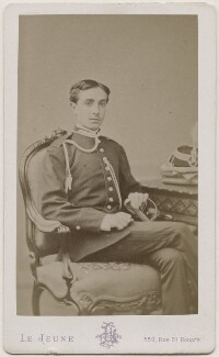 Alfonso XII, King of Spain, by Augustin Aimé Joseph Le Jeune, 1875 - NPG Ax28562 - © National Portrait Gallery, London