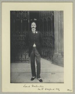 Arthur Annesley, 11th Viscount Valentia, by Benjamin Stone - NPG x35505