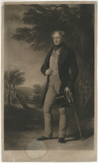 Lewis William Buck, by Henry Cousins, after  Sir Francis Grant - NPG D32281