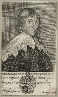 Thomas Neale, by William Marshall - NPG D27901