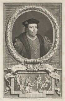 Edward Stafford, 3rd Duke of Buckingham, by Jacobus Houbraken - NPG D32282