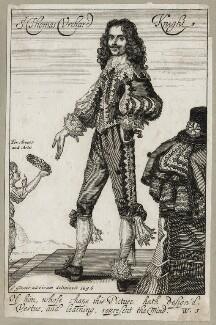Sir Thomas Urquhart (Urchard), after George Glover, published by  William Richardson - NPG D27903