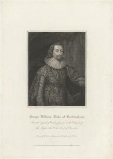 George Villiers, 1st Duke of Buckingham, by Charles Picart, after  Cornelius Johnson (Cornelius Janssen van Ceulen) - NPG D32283