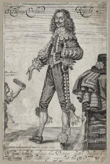 Sir Thomas Urquhart (Urchard), by George Glover - NPG D27904