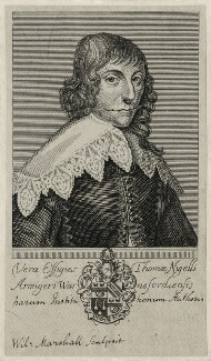 Thomas Neale, by William Marshall - NPG D27910