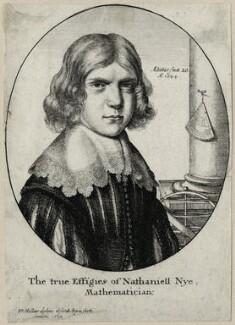 Nathaniel Nye, by Wenceslaus Hollar - NPG D27916