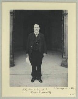 James Galloway Weir, by Benjamin Stone - NPG x35529