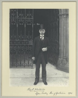 Sir Thomas Palmer Whittaker, by Benjamin Stone - NPG x35536