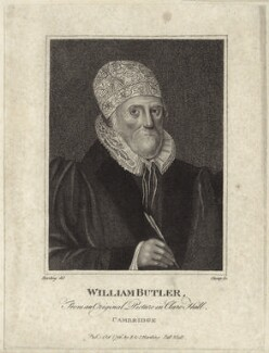 William Butler, by R. Clamp, published by  E. & S. Harding - NPG D27934