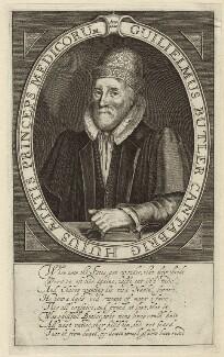 William Butler, by Simon de Passe - NPG D27936