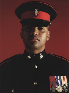Johnson Gideon Beharry, by Giles Price - NPG x131262