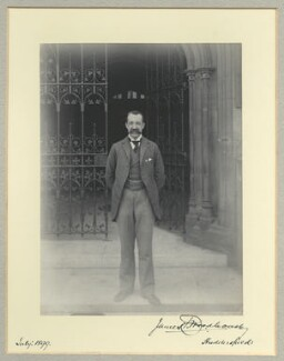James Thomas Woodhouse, 1st Baron Terrington, by Benjamin Stone - NPG x35559