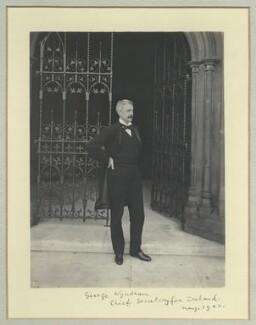George Wyndham, by Sir (John) Benjamin Stone, May 1902 - NPG x35567 - © National Portrait Gallery, London
