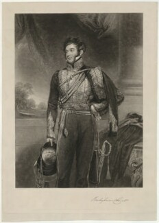 Richard Grenville, 2nd Duke of Buckingham and Chandos, by John Porter, after  John Jackson - NPG D32299