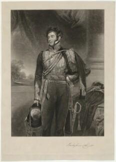 Richard Grenville, 2nd Duke of Buckingham and Chandos, by John Porter, after  John Jackson, published 1841 - NPG D32299 - © National Portrait Gallery, London