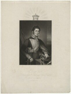 Richard Grenville, 2nd Duke of Buckingham and Chandos, by Robert Cooper, after  Anne Mee (née Foldsone), 1821 - NPG D32300 - © National Portrait Gallery, London