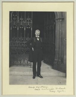 George Wyndham, by Benjamin Stone - NPG x35566