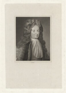 John Sheffield, 1st Duke of Buckingham and Normanby, by Edward Francis Finden, after  Jonathan Richardson - NPG D32303