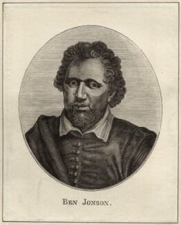 Benjamin Jonson, after Gerrit van Honthorst, after  Abraham van Blyenberch - NPG D27951