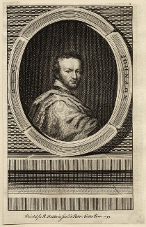 Called Benjamin ('Ben') Jonson, published by Richard Baldwin, after  Isaac Oliver - NPG D27952