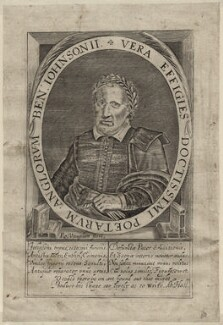 Benjamin ('Ben') Jonson, by Robert Vaughan - NPG D27953